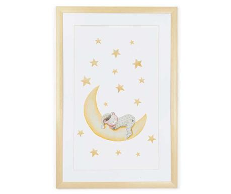 Tablou Marlon Night Beige 40x60 cm