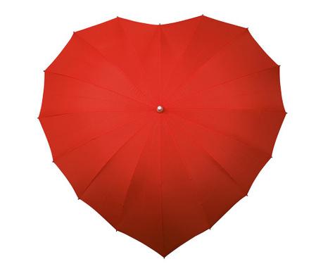 Deštník Falconetti Heart Red