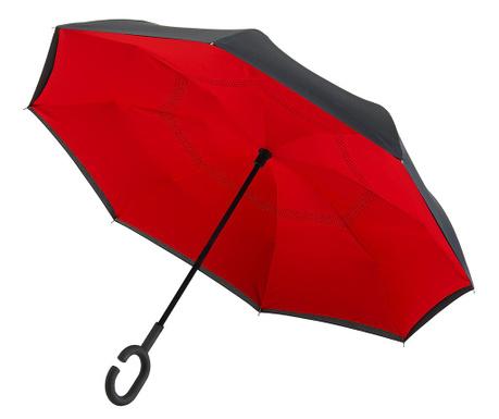Deštník Classic Black and Red Reversible