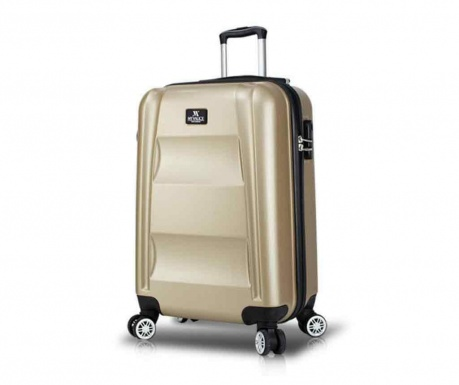 Kovček na kolesih USB Hugh Gold