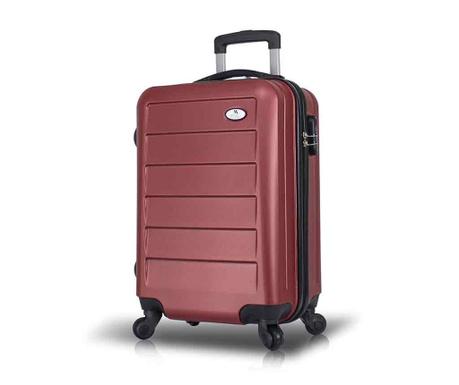 Kovček na kolesih Iuki Claret Red