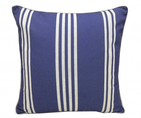 Poduszka dekoracyjna Stripe Blue 45x45 cm