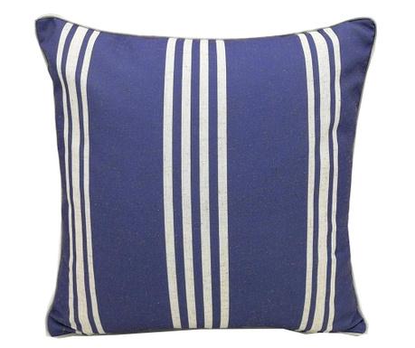 Okrasna blazina Stripe Blue 45x45 cm