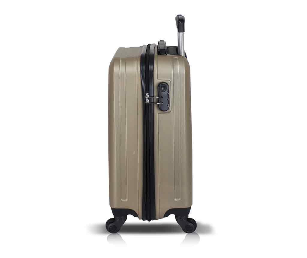Iuki Gold Gurulós bőrönd
