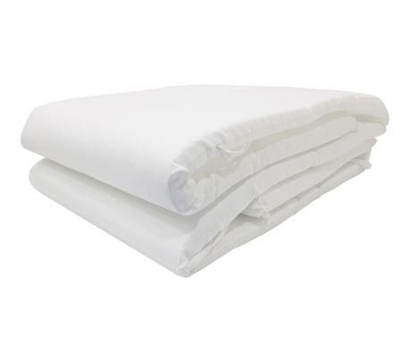 Ochraniacz do łóżeczka Lavia White 46x295 cm