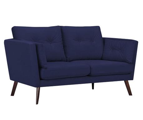 Elena Navy Blue Kétszemélyes kanapé