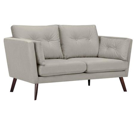 Elena Light Grey Kétszemélyes kanapé