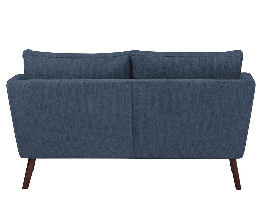 Elena Eli Dark Blue Kétszemélyes kanapé