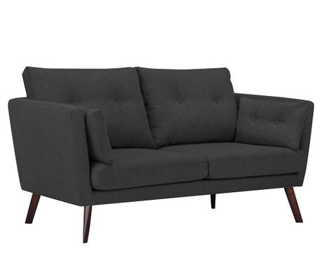 Elena Eli Dark Grey Kétszemélyes kanapé