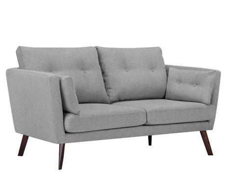 Elena Eli Light Grey Kétszemélyes kanapé