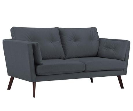 Elena Dark Grey Kétszemélyes kanapé