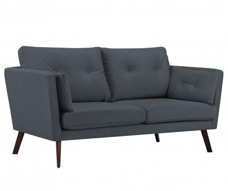 Canapea 3 locuri Elena Dark Grey