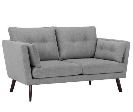 Elena Eli Light Grey Háromszemélyes kanapé
