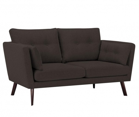 Elena Eli Brown Háromszemélyes kanapé