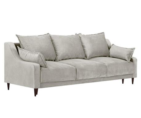 Freesia Beige Háromszemélyes kihúzható kanapé