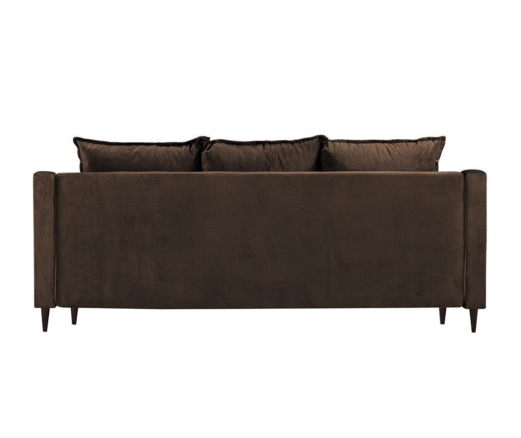 Canapea extensibila 3 locuri Freesia Brown
