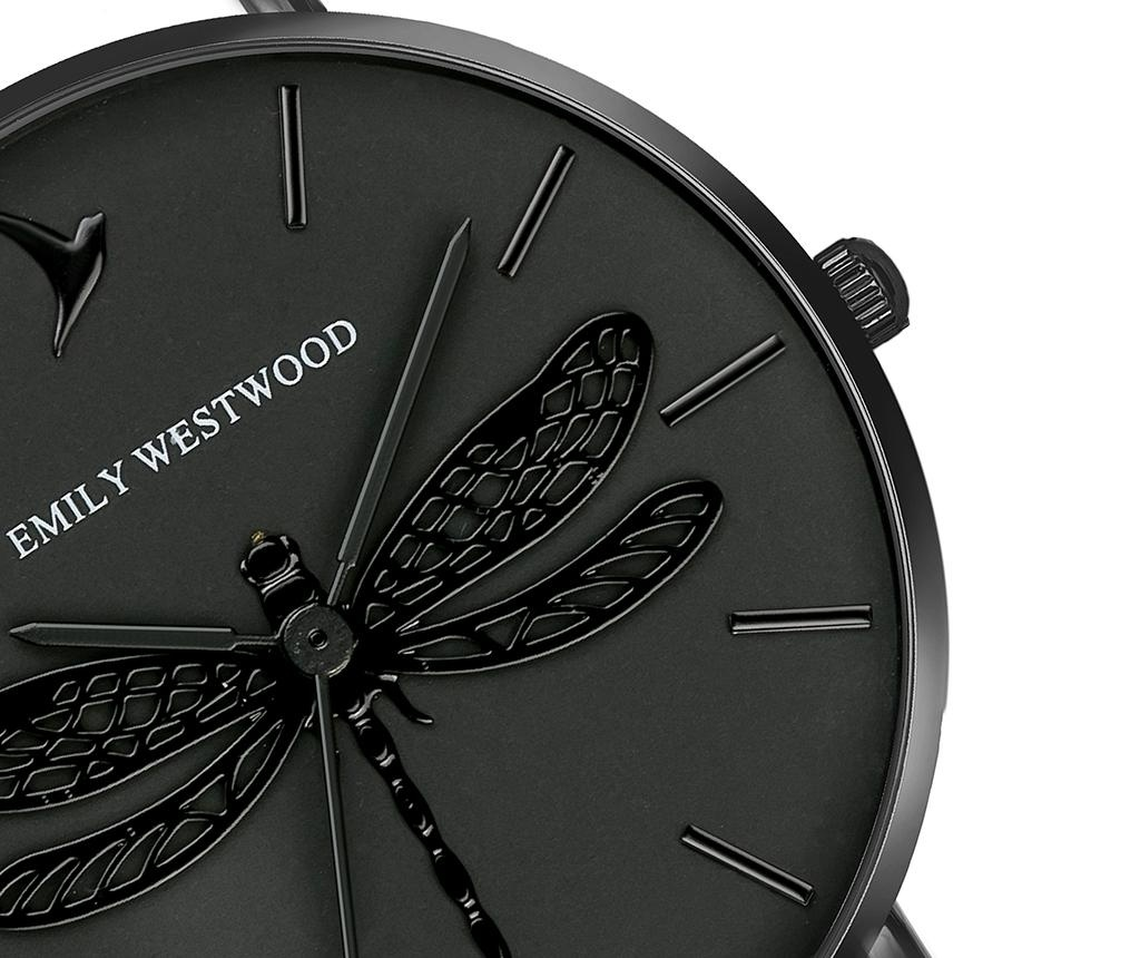 Ceas de mana dama Emily Westwood Dragonfly Black