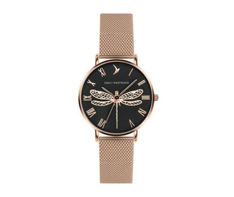 Γυναικείο ρολόι χειρός Emily Westwood Dragonfly Rose One