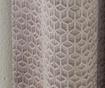 Set 2 draperii Embossed Geo Champagne 117x183 cm