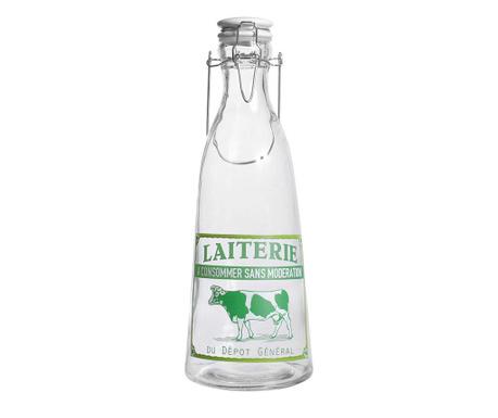 Steklenica s tesnilnim zamaškom Laiterie 1 L