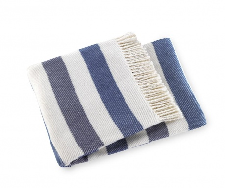 Pled Sweet Stripe Night Blue 140x180 cm