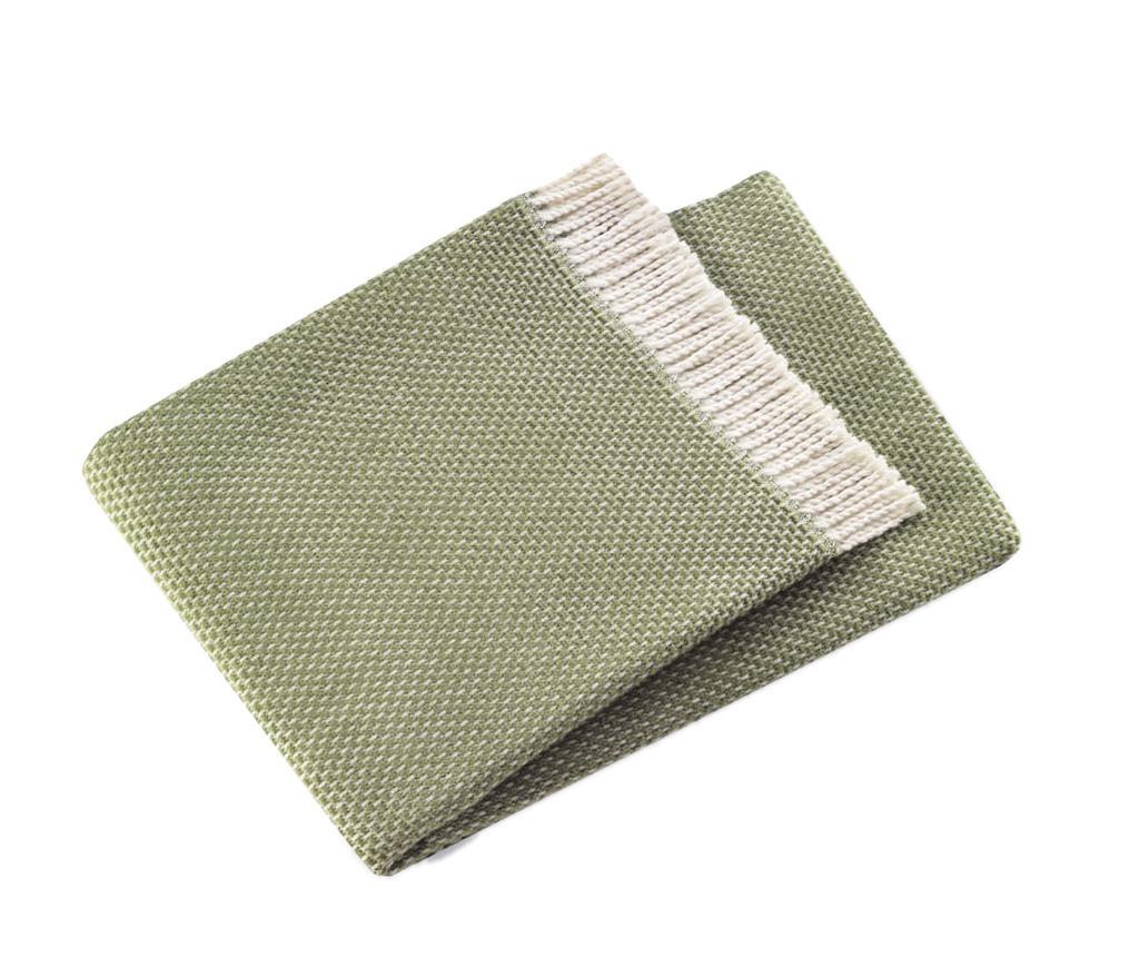 Zen Olive Green Pléd 140x180 cm