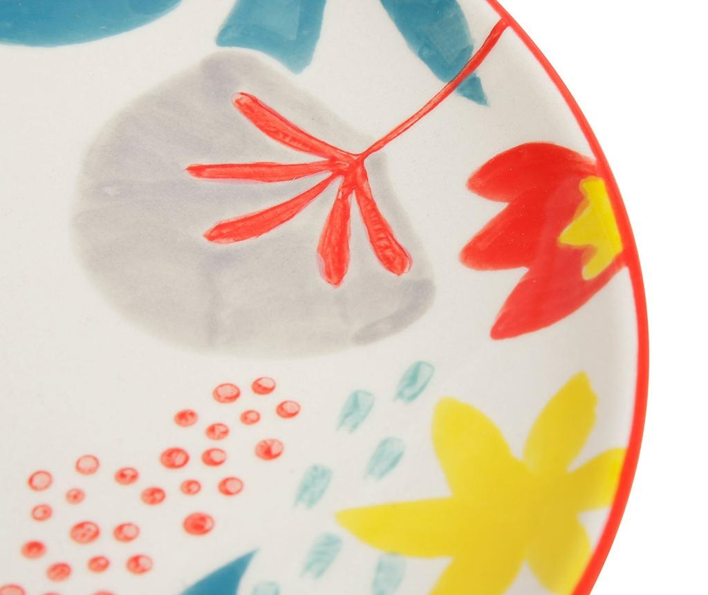 Ario Blue Red 2 db Desszertes tányér