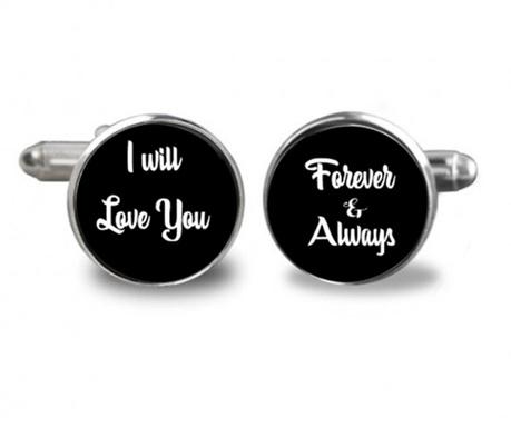 Butoni camasa I Will Love You