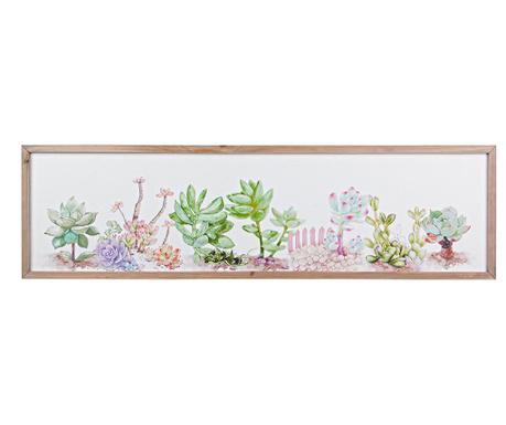 Картина Sukkulent Plant 34x120 см