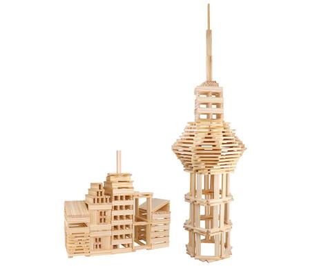 Set de construit 100 piese City Block