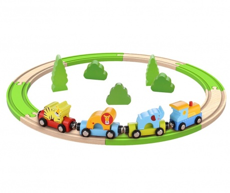 Set de construit 20 piese Train