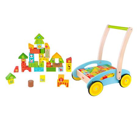 Set za građenje i igračka za guranje Forest