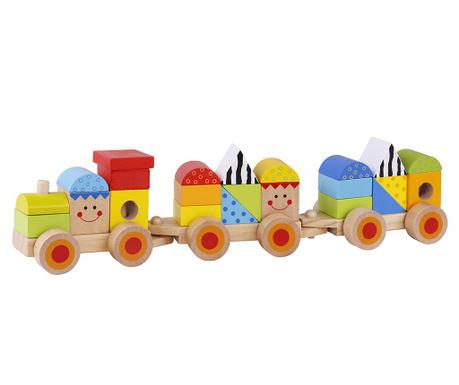 Igračka vlakić s oblicima 26 dijelova Choo