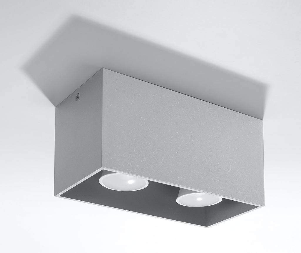 Stropna svjetiljka Geo Two Grey