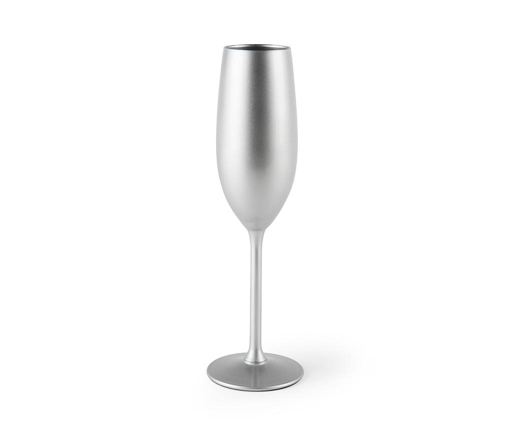 Pahar pentru sampanie Platinum 210 ml