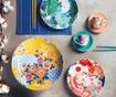 Set 6 skodelic in 6 krožničkov Kimono Multi