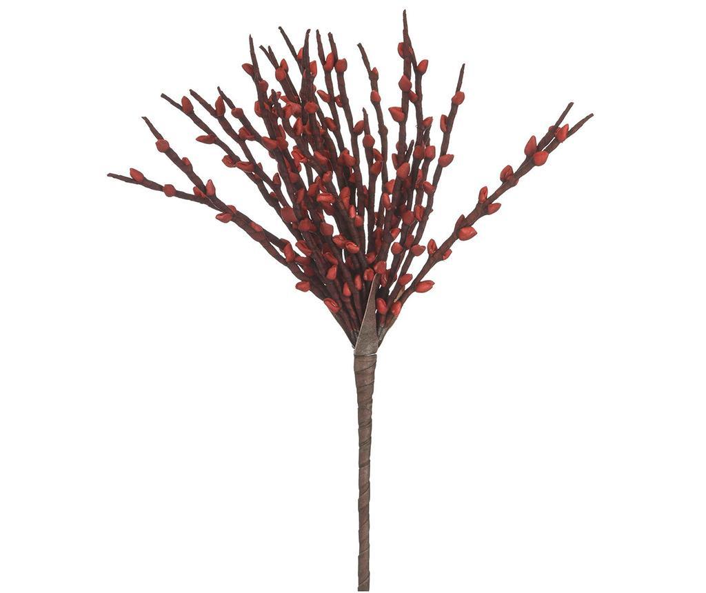 Planta artificiala Serra Branch Red