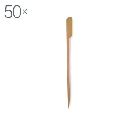 Set 50 betisoare pentru aperitive Bamboo
