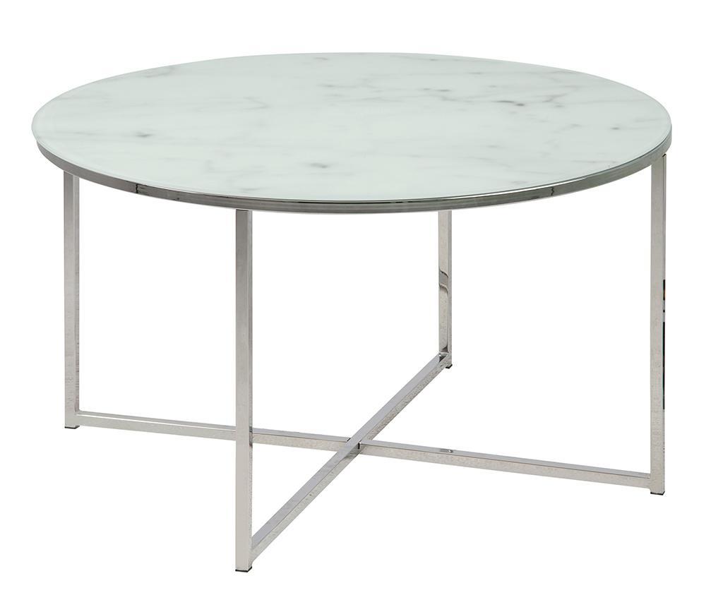 Konferenční stolek Alisma Round Blue