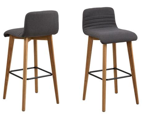 Sada 2 barových židlí Arosa