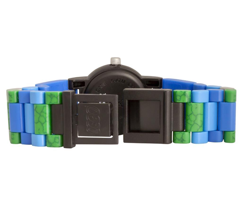Otroška zapestna ura Lego Jurassic World Blue Kid