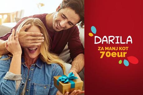 Ideje za darila za manj kot 70 EUR