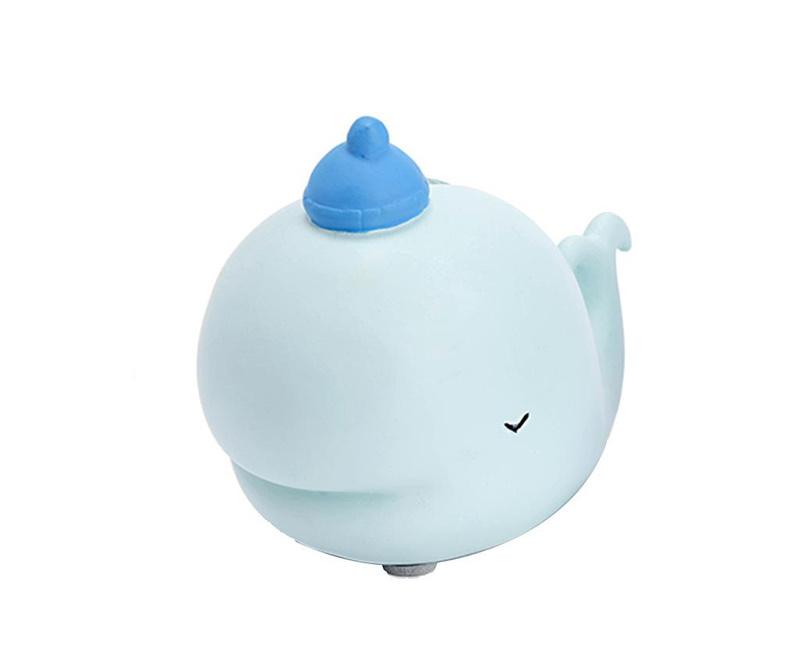Hranilnik Whale Light Blue