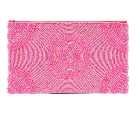 Clutch torbica Pink Round