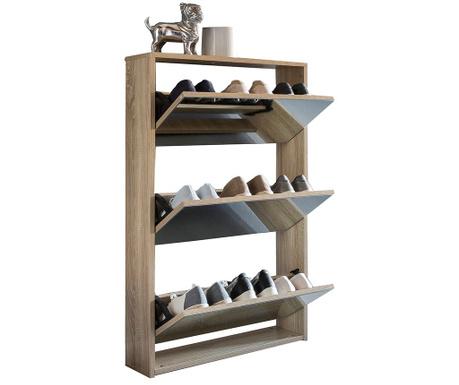 Niklas Nature Cipőtartó szekrény