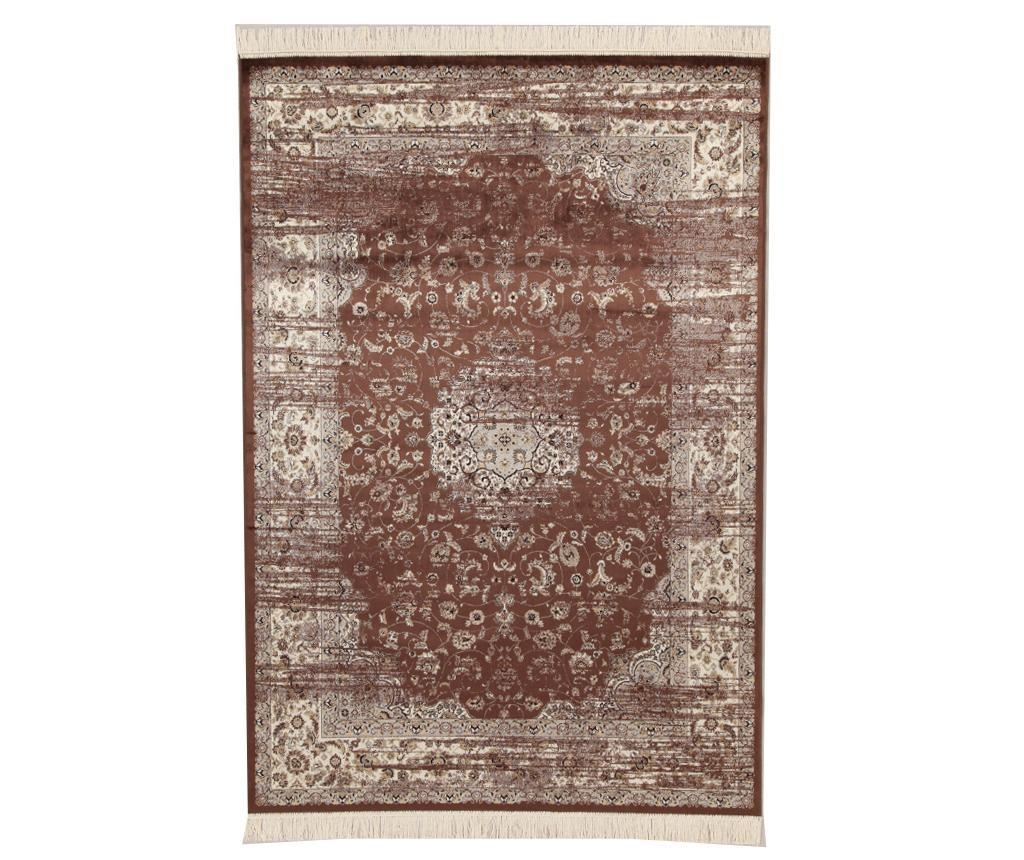 Tepih Fringes Brown 100x140 cm