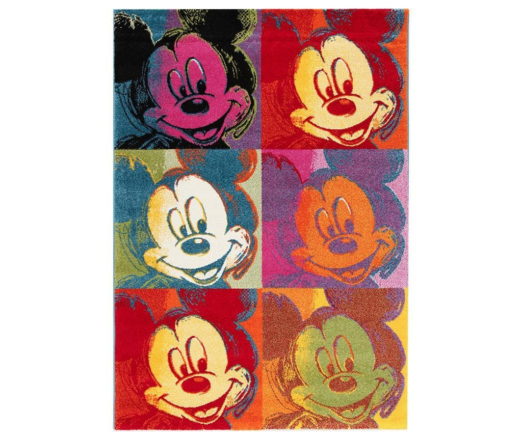Koberec Disney Mickey Pop Art Patch 133x190 cm