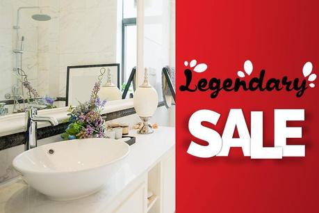 Legendary Sale: Utile in baie