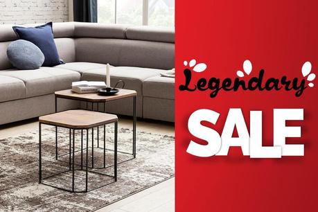 Legendary Sale: Mobilier si canapele