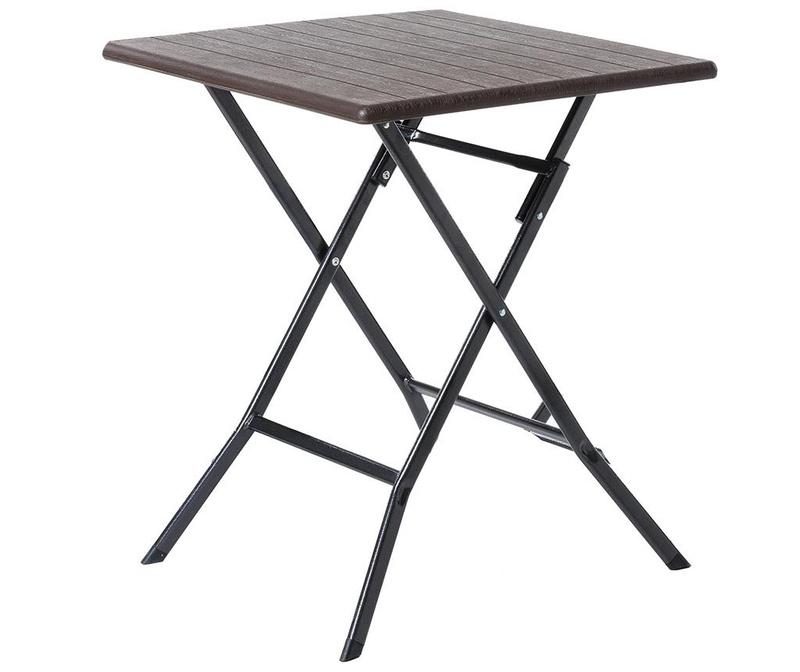 Sklopivi stol za vanjski prostor Logic Saty Brown